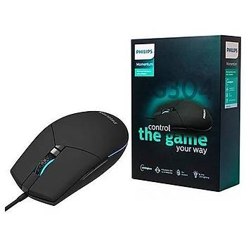 Philips SPK9304 6400 Dpi RGB Led Gaming Oyuncu Mouse