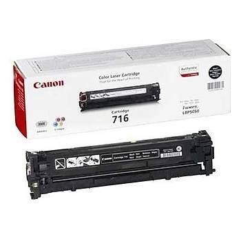 Canon Crg-716bk Lbp5050, Lbp5050n, Mf8030 Siyah Toner Orjinal