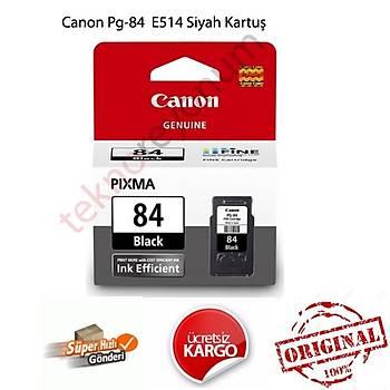 Canon Pg-84 E514 800 Sayfa Orjinal Siyah Kartuþ