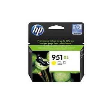 HP CN048AE (951XL) Pro 8600, 8100 Sarý Kartuþ 1500 Baský