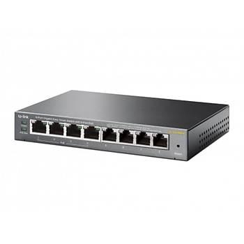 TP-Link TL-SG108PE  8 Port Gigabit Smart Masaüstü Switch 4 Port Poe