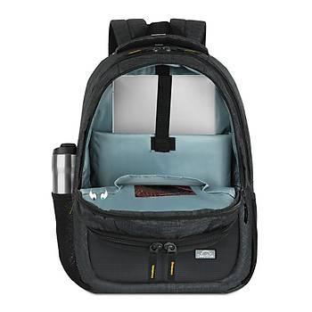 DeepBlue DP-800 15.6 inç Notebook Laptop Sýrt Çantasý Gri-Sarý