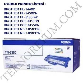Brother Tn-3350 Mfc8510, 8910, HL5440 Toner