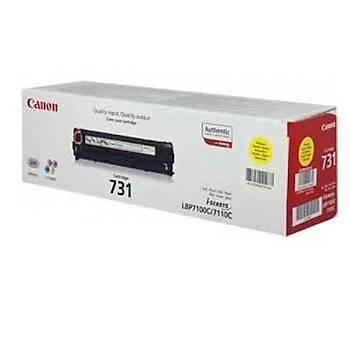 Canon Crg-731y Lbp660, Lbp660ax, Lbp460, Lbp465 Sarý Toner