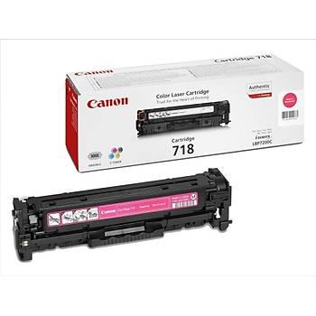 Canon Crg-718 Lbp-7200, 718, Mfc8350 Kýrmýzý Toner