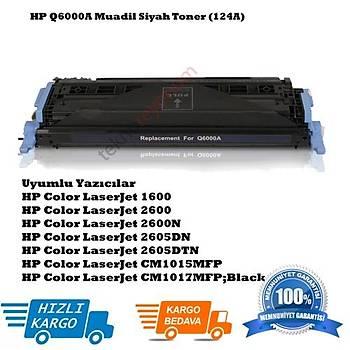 HP Q6000A Muadil Siyah Toner (124A)