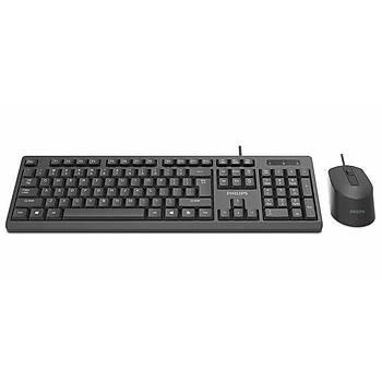 Philips SPT6234/62 Kablolu Klavye+Mouse SET USB Q TR