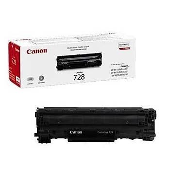 Canon Crg-728 Mf4410, 4430, 4450, 4570 Orjinal Siyah Toner