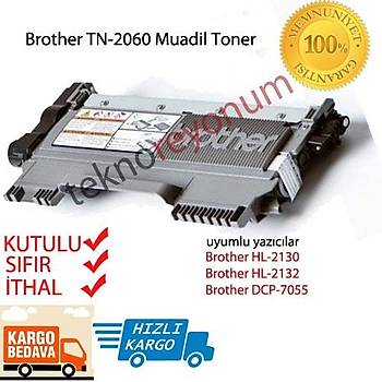 Brother TN-2060 Muadil Toner HL-2130, HL-2132, DCP-7055