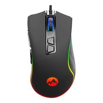 Everest Rampage SM-G06 Sagitta 6400Dpi USB RGB 8D Makrolu Gaming Oyuncu Mouse