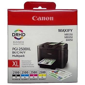Canon PGI-2500XL Kartuþ Seti MAXIFY iB4050/MB5350/MB5050