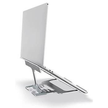 Nillkin FlexDesk Ayarlanabilir Macbook/Notebook Standý Gümüþ
