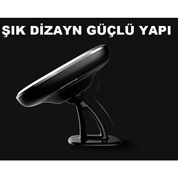 Nillkin C Model Kablosuz Hýzlý Þarj Araç Telefon Tutucu 10w