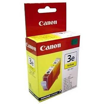 Canon Bci-3ey BJC3000, 6500, 6100 Sarý Kartuþ Outlet