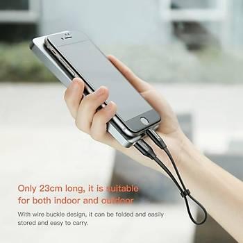 Baseus 23CM 2A Ýphone Þarj ve Data Kablosu Lightning X 8 7 6