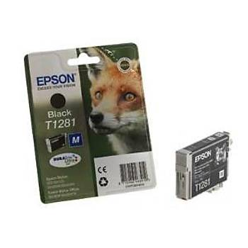 Epson T1281 Bx305f, Sx125, Sx130, sx230 Siyah Kartuþ