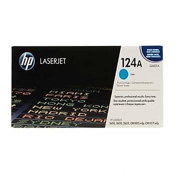 Hp Q6001A Mavi Toner Orjinal 124A 1600, 2600n, 2605, CM1015