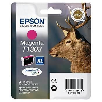 Epson T1303 Bx320fw, Bx525wd, Bx625fwd Magenta Kartuþ
