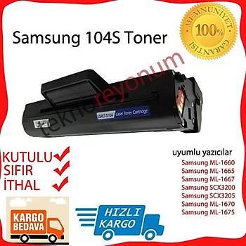 Samsung 104S Muadil Toner ML-1660 /1670/1665/1667/1675/Scx3200