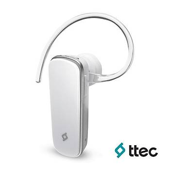 Ttec Comfort Mono Bluetooth Kulaklýk Beyaz 2KM0098