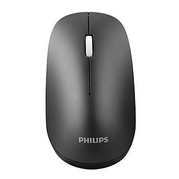 Philips M305 SPK7305 Þarj Edilebilir 1600 Dpi Kablosuz Mouse Siyah