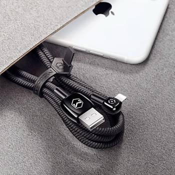 Mcdodo Ýphone Þarj ve Data Kablosu Ledli 2A 1,2m CA-5790