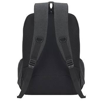 DeepBlue DP-550 Lux Koton 15.6'' Notebook ve Evrak Sýrt Çantasý Gri