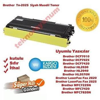 Muadil Tn-2025 Tn-350, 2820, 7420, 2040 Siyah Toner