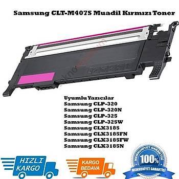 Samsung CLT-M407S Muadil Kýrmýzý Toner CLP-320/321N/325