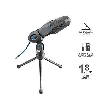 Trust 23790 Mico USB 3.5mm Mikrofon Siyah