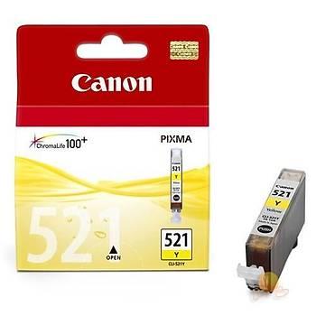 Canon CLI-521Y IP3600, Mp260, Mx860 Sarý Kartuþ