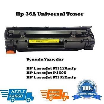 HP CB436A Muadil Siyah Toner (36A)