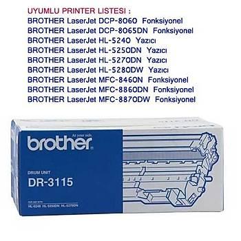 Brother Dr-3115 HL5240, 5250, Mfc8460, Dcp8060 Drum