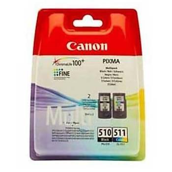 Canon Pg-510/CL511 Kartuþ Seti Siyah-Renkli Mp240, 250, 260, Mx320