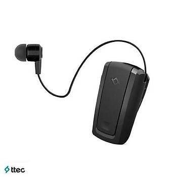 Ttec Bluetooth Kulaklýk Macaron Mini Makaralý siyah (outlet)
