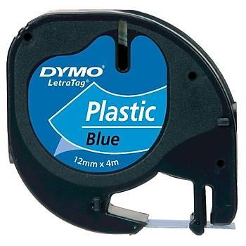 Dymo 59426 12MM 4MT Mavi Plastik Þerit