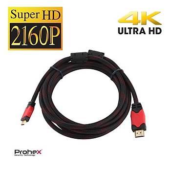 Prohex 4K 1,8M 2160P HDMI-HDMI Ultra Hd Tv Görüntü Kablosu