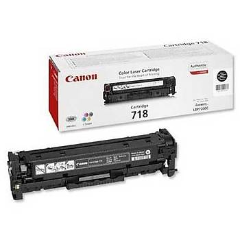 Canon Crg-718 Lbp-7200, 718, Mfc8350 Siyah Toner