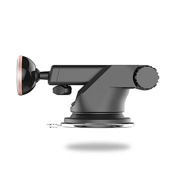 Baseus Manyetik Araç Cep Telefon Tutucu Teleskopik Vantuz Era
