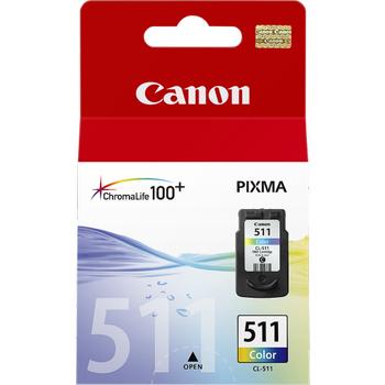Canon CL-511 Renkli Kartuþ Mp240, 250, 260, Mx320, Mx420, Mp 280