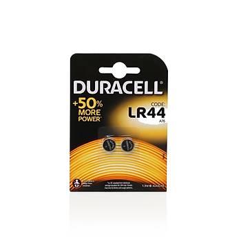 Duracell Alkalin LR44/AG13 Düðme Pil 1.5 Volt 2'li Paket