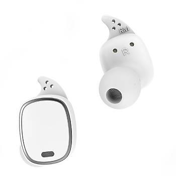 QCY T1 Pro Spor Beyaz Kulak Ýçi Bluetooth Kulaklýk Airpods