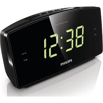 Philips AJ3400/12 Büyük Ekranlý Çift Alarm Saatli Radyo