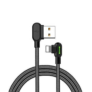 Mcdodo iPhone Lightining 0.50 cm Þarj ve Data Kablosu Siyah