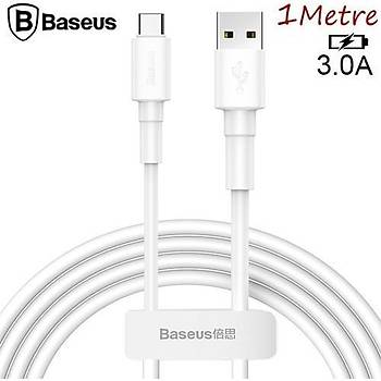 Baseus Mini 2,4A Type-C Þarj ve Data Kablosu Android 100cm