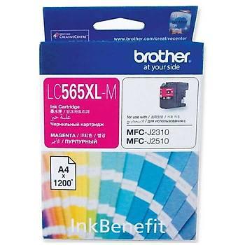 Brother Lc-565XL MFC-J2310/J2510/J3520/J3720 Kýrmýzý Kartuþ Orj.