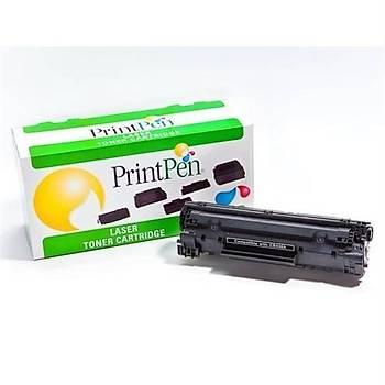 Hp Printpen CE285A -Canon Crg-725 Muadil Toner Hp P1102, P1106