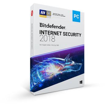 Bitdefender Ýnternet Security 2018 1 Yýl 5 Kullanýcý