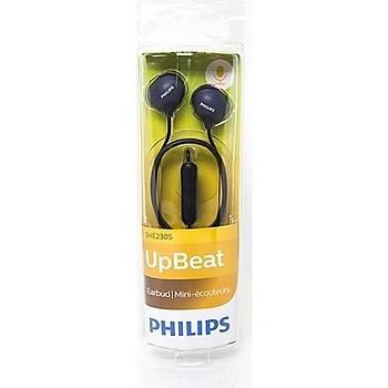 Philips SHE2305BK Kulakiçi Mikrofonlu Kulaklýk Siyah