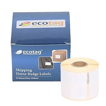 Dymo Ecotag Muadil Disket Etiketi 70x54 mm 320 Adet Etiket